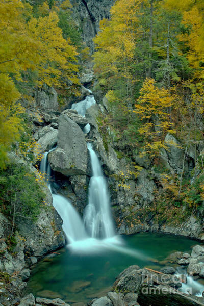 Photograph - Taconic Mountain Waterfall by Adam Jewell