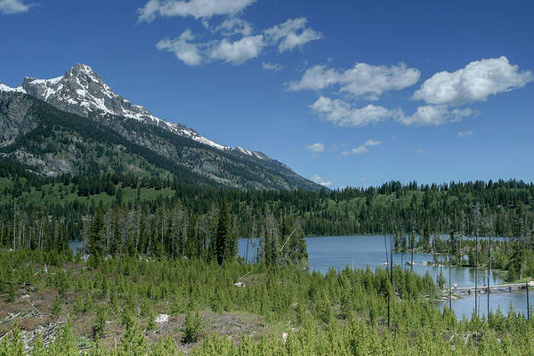 Photograph - Taggart Lake by Ronnie and Frances Howard