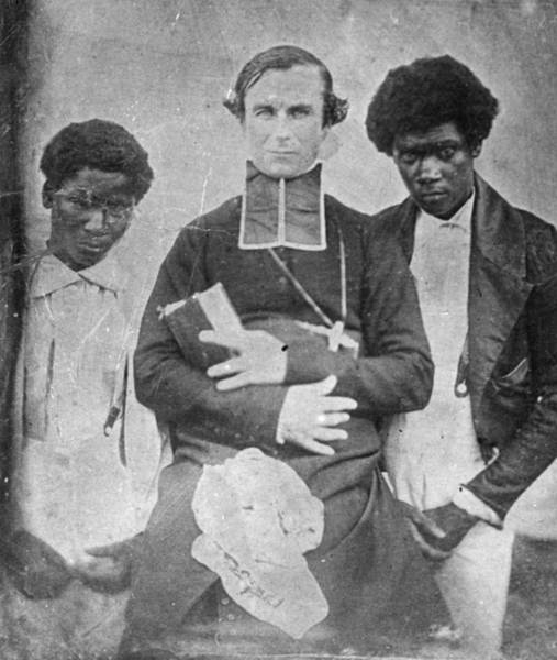 Missionary Photograph - Tahitian Converts by Henry Guttmann Collection