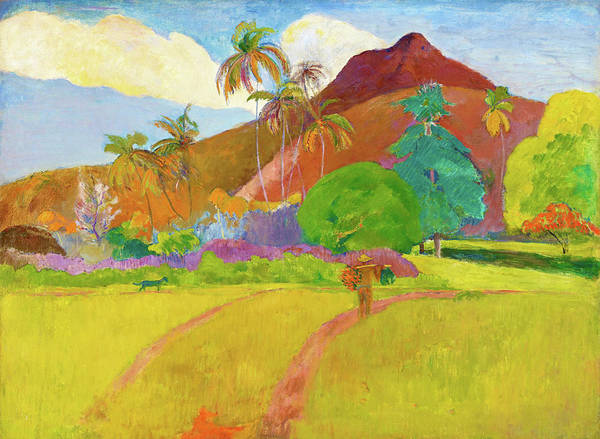 Gauguin Painting - Tahitian Landscape - Digital Remastered Edition by Paul Gauguin