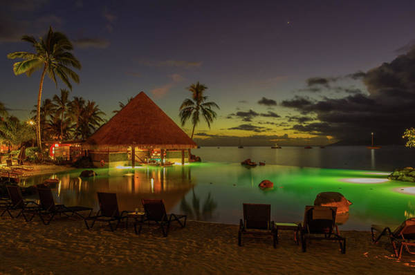 Wall Art - Photograph - Tahitian Twilight by Scott McGuire