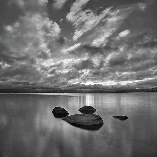Photograph - Tahoe Cloud Mirror by Martin Gollery