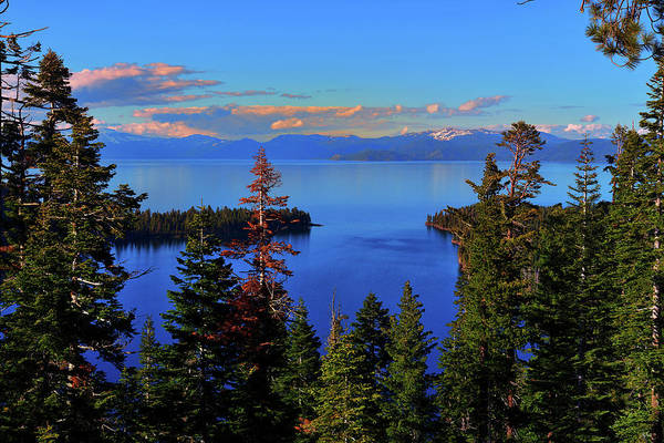 Photograph - Tahoe Evening Calm by Greg Norrell