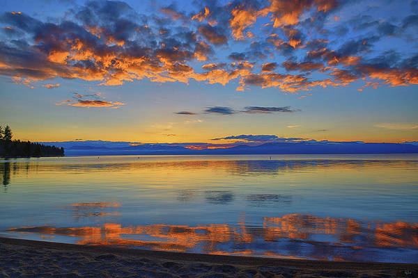 Photograph - Tahoe Morning Light by Greg Norrell
