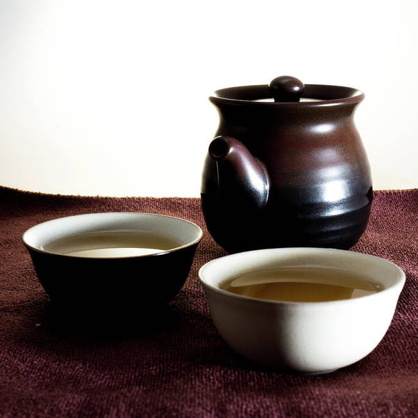 Teapot Photograph - Taichi Cups And Teapot by Photography By Chen-kang Liu