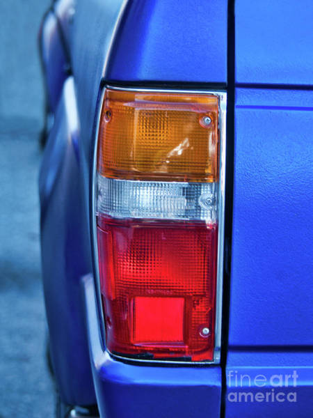 Photograph - Toyota 4 Runner Taillight Detail by Amy Dundon
