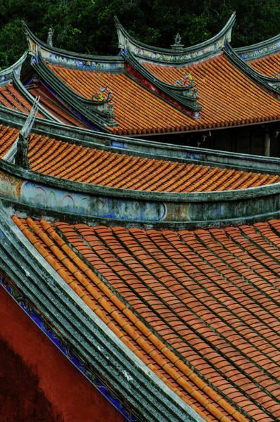 Taiwanese Wall Art - Photograph - Tainan Confucius Temple.taiwan by Ashine