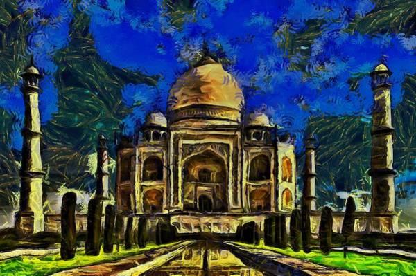 Painting - Taj Mahal by Harry Warrick