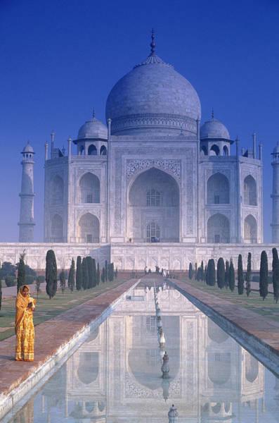 Taj Mahal Photograph - Taj Mahal In Agra, India by Peter Adams