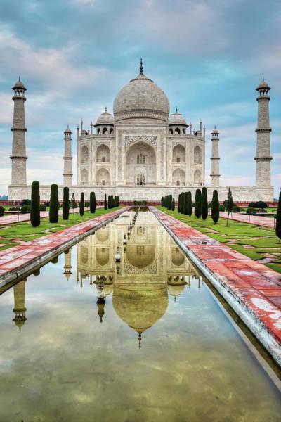 Taj Mahal Photograph - Taj Mahal India by Tirc83