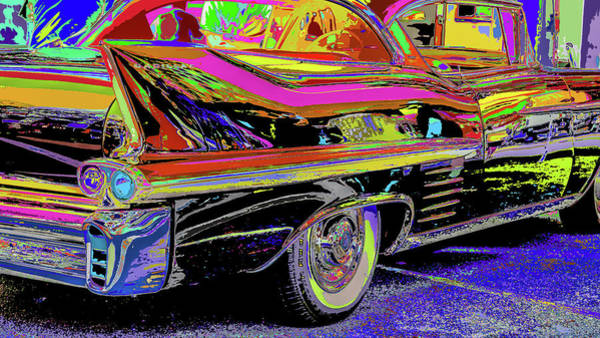 Photograph - Take A Slow Ride In A Fast Caddy  by Kenneth James