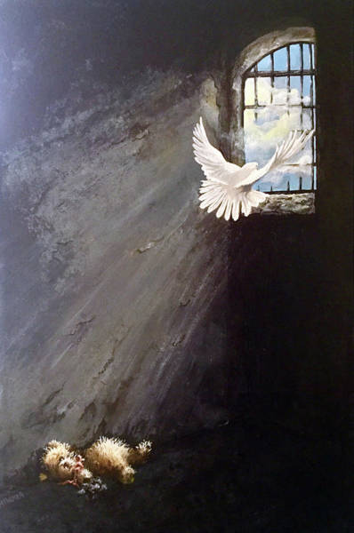 Painting - Take Flight by Mary Palmer
