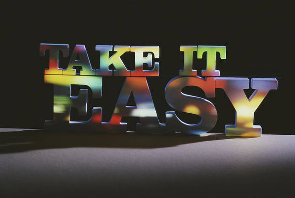 Photograph - Take It Easy by Alfred Gescheidt