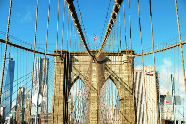 It Professional Photograph - Take It To The Brooklyn Bridge by John Rizzuto