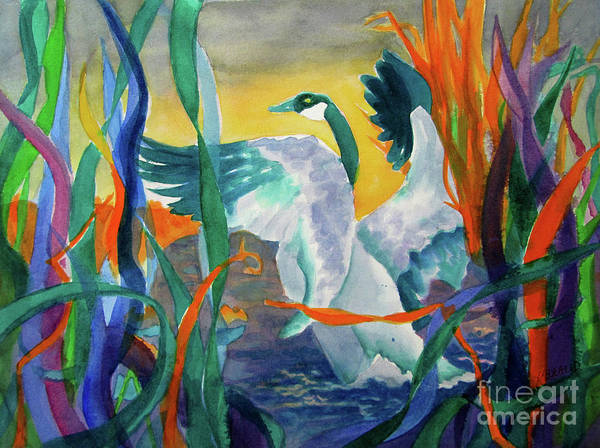 Wall Art - Painting - Take Off by Kathy Braud