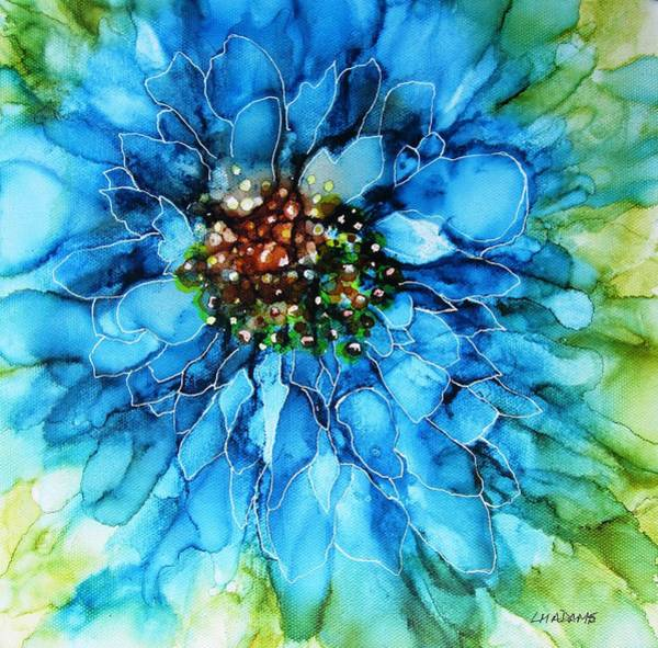 Wall Art - Painting - Take Two Blue by Louise Adams