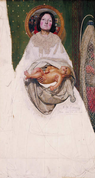 Wall Art - Painting - Take Your Son, Sir, 1851 by Ford Madox Brown