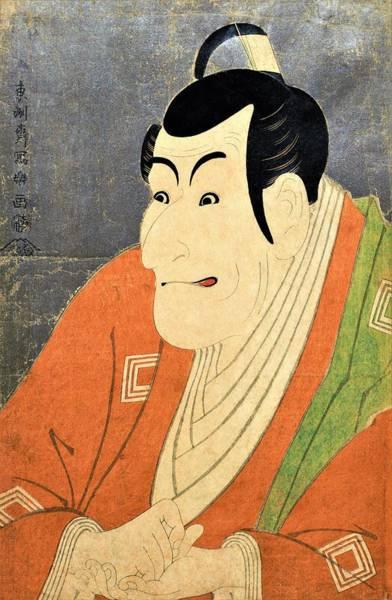 Wall Art - Painting - Takemura Sadanoshin - Top Quality Image Edition by Toshusai Sharaku