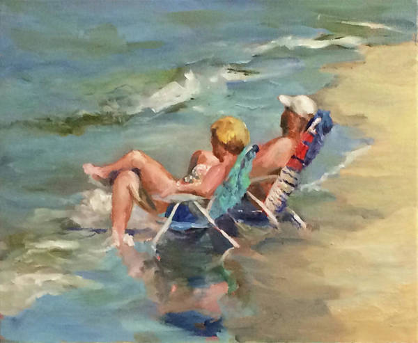 Painting - Takin' It Easy by Bart Levy