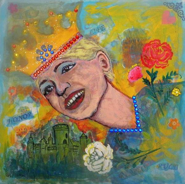 Mixed Media - Taking Back Your Crown by Sherry Flaker