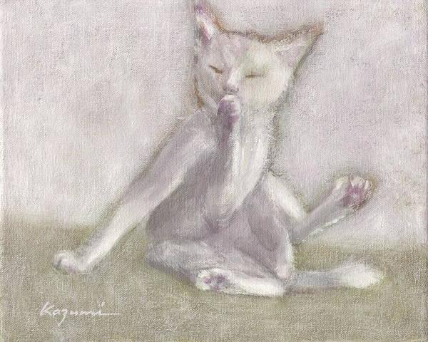 Painting - Taking Care Of Myself  by Kazumi Whitemoon