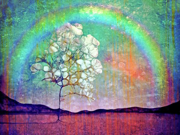Digital Art - Taking Shelter Under The Rainbow by Tara Turner