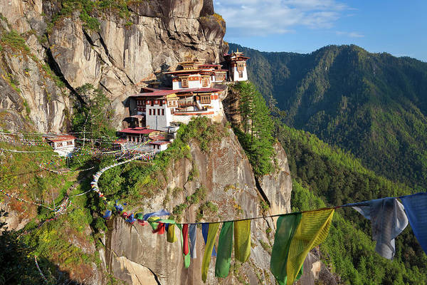 Viewpoint Photograph - Taktsang Goemba, Paro Valley, Bhutan by Peter Adams