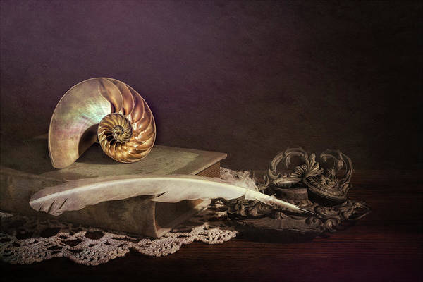 Ornate Photograph - Tales Of The Sea by Tom Mc Nemar