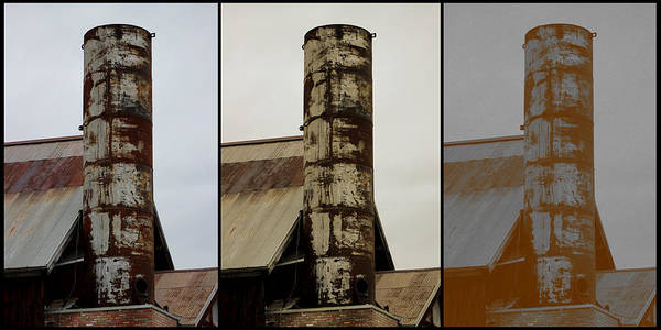 Photograph - Tall And Strong - Industrial Art by Colleen Cornelius