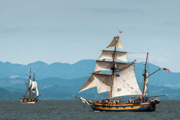 Photograph - Tall Ships And The Wind by Robert Potts