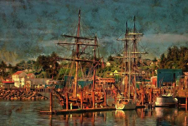 Photograph - Tall Ships by Thom Zehrfeld