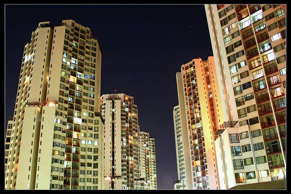 Jakarta Photograph - Taman Rasuna Apartments by Simonlong