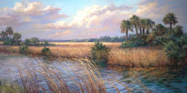 Old South Painting - Tamiami Trail by Laurie Snow Hein