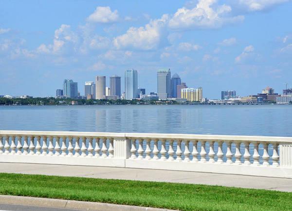 Wall Art - Photograph - Tampa And Beautiful Bayshore by David Lee Thompson
