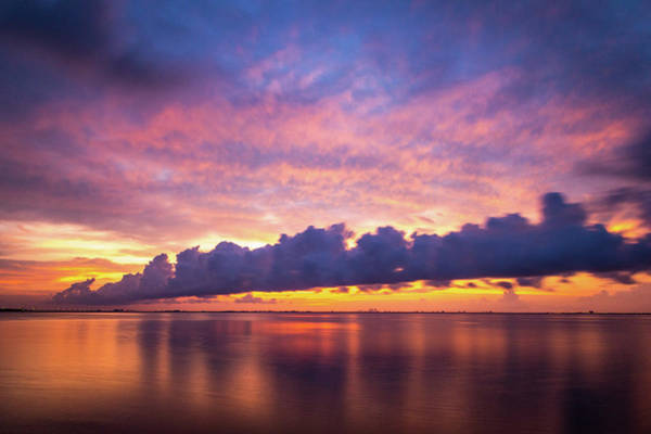 Photograph - Tampa Bay Sunrise by Joe Leone