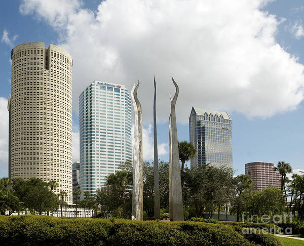 Photograph - Tampa Skyline, 2007 by Carol Highsmith