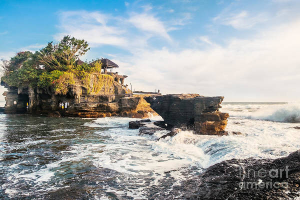 Wall Art - Photograph - Tanah Lot Water Temple In Bali by Dmitry Polonskiy