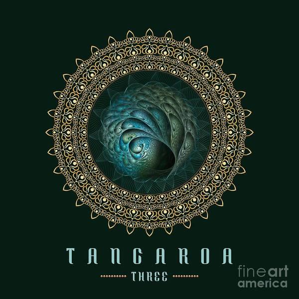 Digital Art - Tangaroa Three by Doug Morgan