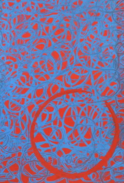 Avondet Wall Art - Mixed Media - Tangle II by Natalie Avondet