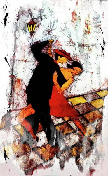 Digital Art - Tango Time In Buenos Aires 2 by Joseph Hendrix
