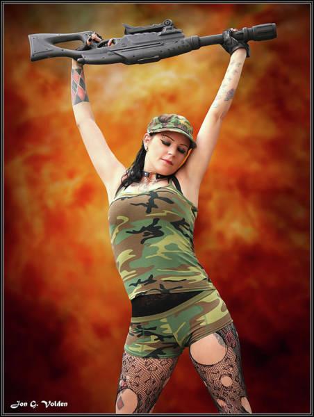 Photograph - Tank Girl Unbound by Jon Volden