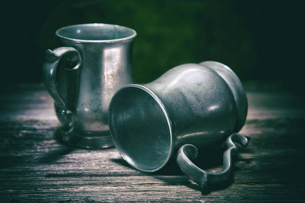Wall Art - Photograph - Tankards by Tom Mc Nemar