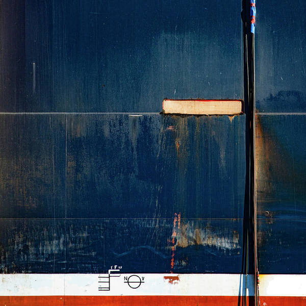 Wall Art - Photograph - Tanker In Drydock Number 2 by Carol Leigh