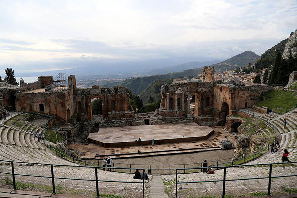 Photograph - Taormina 13 by Andrew Fare