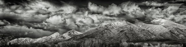 Photograph - Taos Mountain After The Storm by Robert Woodward