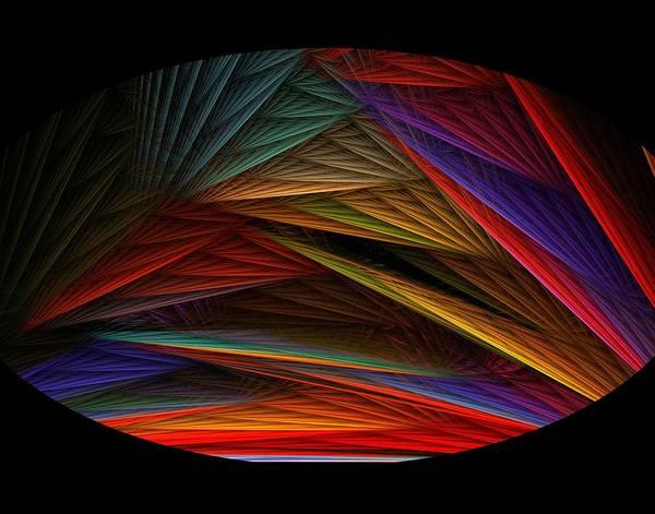Digital Art - Taos Sunset by Rein Nomm