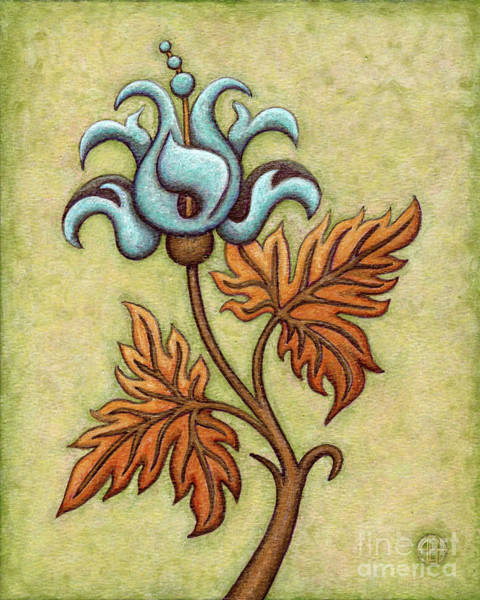 Painting - Tapestry Flower 2 by Amy E Fraser