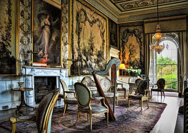 Wall Art - Photograph - Tapestry Drawing Room by Paul Coco