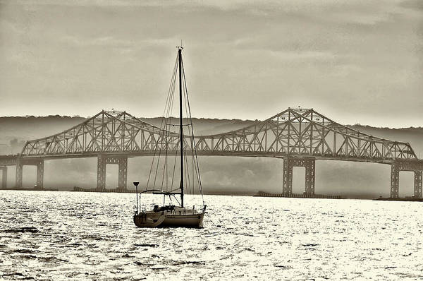 Wall Art - Photograph - Tappan Zee Bridge In Sepia by Bill Cannon