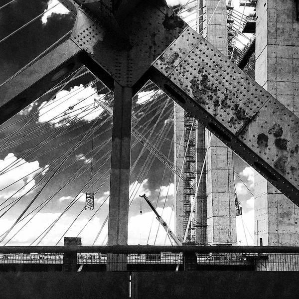 Photograph - Tappan Zee Bridge - Old One by Frank Winters